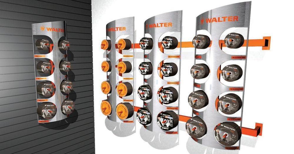 Industrial product, tool, retail pop display rack